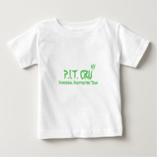 P.I.T. CRU, Paranormal Investigation Team, NY Baby T-Shirt