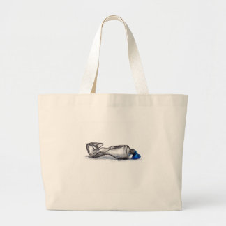 P is for Paint Tube Jumbo Tote Bag