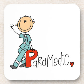P is for Paramedic Drink Coasters