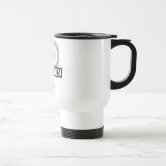P is for Peyton Stainless Steel Travel Mug