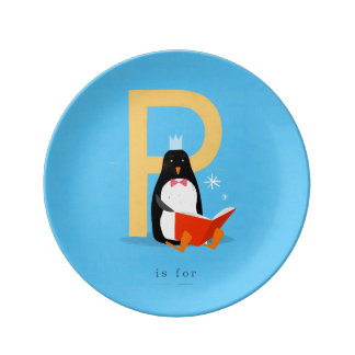 P is for... plate