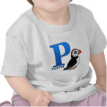 P is for Puffin Tshirt