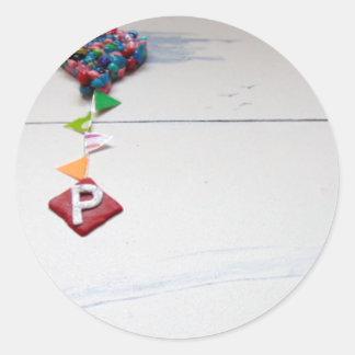 p.jpg round sticker