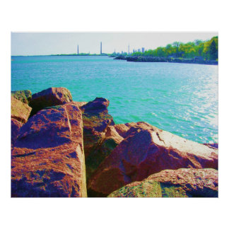 P. Landscapes: Sunny Beaches of Toronto Poster