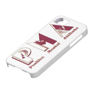 P.M.A Positive Mental Attitude IPhone Barely Case iPhone 5 Cover