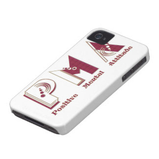P.M.A Positive Mental Attitude IPhone Barely Case iPhone 4 Cover