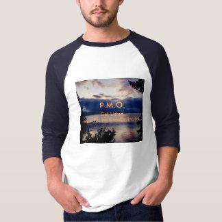 P.M.O.-Men's Basic 3/4 Sleeve Raglan T-Shirt