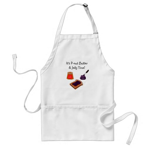 P-nut Butter & Jelly Time Apron