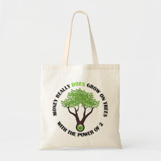 P of 2 Money Tree Tote Bags