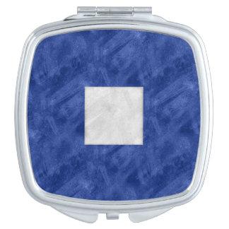 P Papa Watercolor Nautical Signal Maritime Flag Compact Mirror