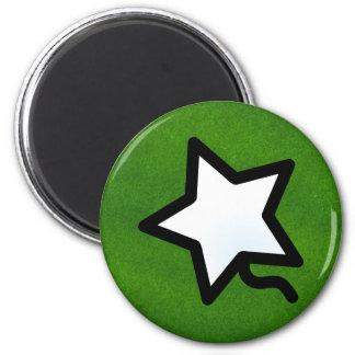 P. Quinstar round 6 Cm Round Magnet