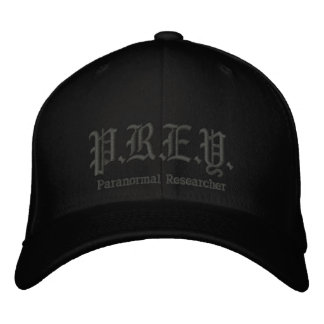 P.R.E.Y. - Paranormal Researcher Cap Embroidered Hat