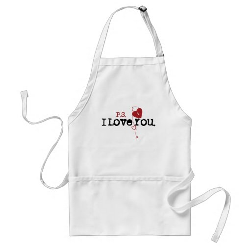 P.S. I Love You Aprons