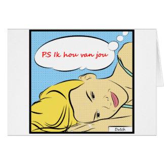 P.S Ik hou van jou Greeting Card