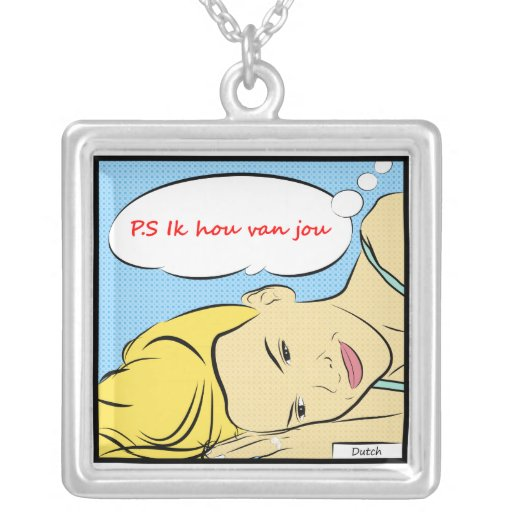 P.S Ik hou van jou in Dutch Jewelry