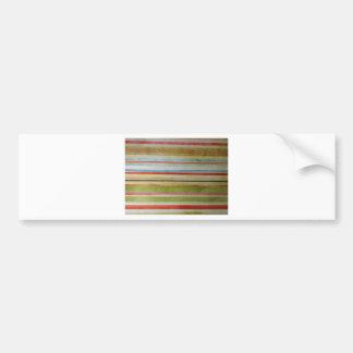 P Smith Pattern Bumper Sticker