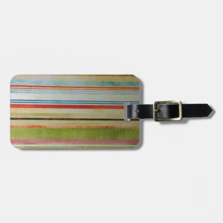 P Smith Pattern Luggage Tag
