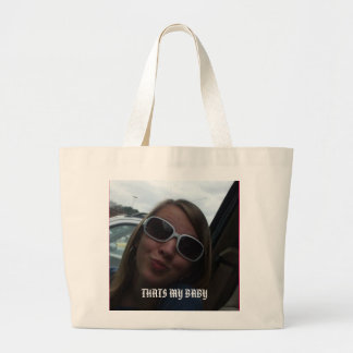 P, THATS MY BABY TOTE BAGS