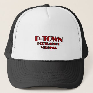 P-Town Portsmouth Virginia Logo Trucker Hat