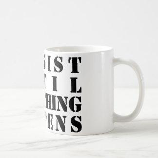 P U S H COFFEE MUGS