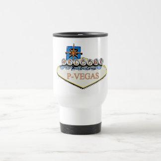 P-Vegas Sign Platteville Wisconsin Mug
