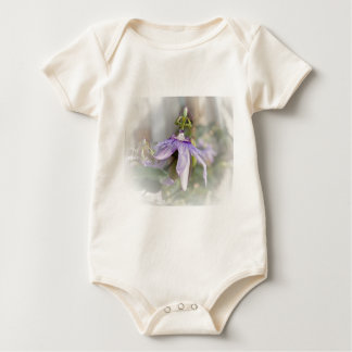 © P Wherrell Beautiful pale purple passion flower Baby Bodysuits