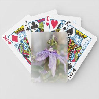 © P Wherrell Beautiful pale purple passion flower Card Deck
