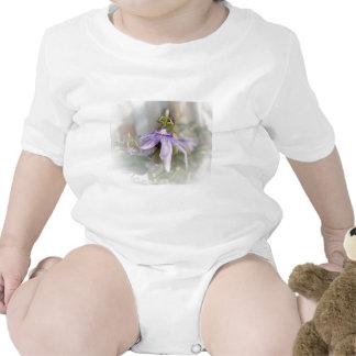 © P Wherrell Beautiful pale purple passion flower Shirts