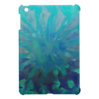 © P Wherrell Dolphin circle digital painting iPad Mini Covers