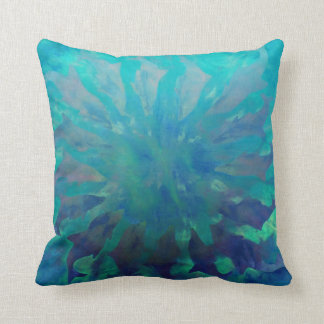 © P Wherrell Dolphin Circle Throw Pillow Cushion