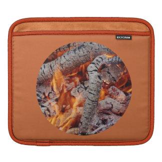 © P Wherrell Fire embers  stylish fine art photo Sleeve For iPads