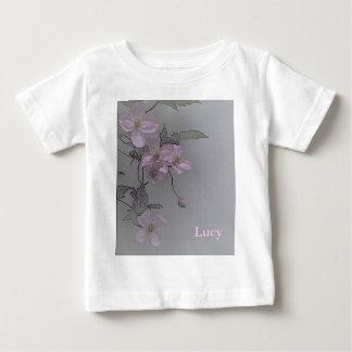 © P Wherrell Gorgeous stylish pale pink clematis Shirts