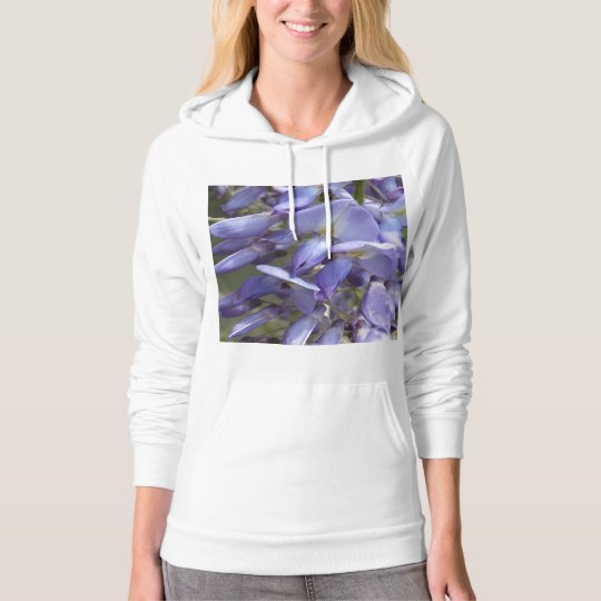 © P Wherrell Purple wisteria fine art photo Hoodie