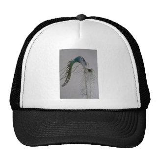 © P Wherrell Stylish fine art peacock feathers Cap