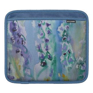 © P Wherrell Stylish trendy impressionist bluebell iPad Sleeves