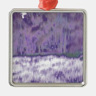 © P Wherrell Trendy pale purple geometric abstract Christmas Ornament