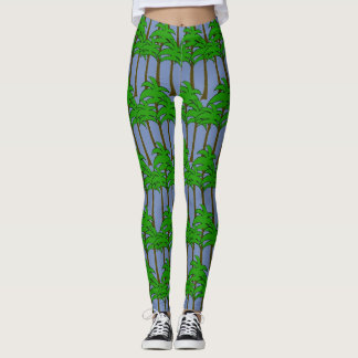 Pa;m Tree Leggings