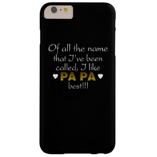 PA PA BEST BARELY THERE iPhone 6 PLUS CASE