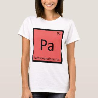 Pa - Pachycephalosaurus Dinosaur Chemistry Symbol T-Shirt