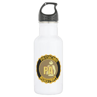 PA PHYSICIAN  ASSISTANT LOGO 532 ML WATER BOTTLE