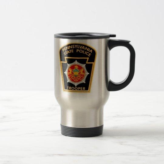 PA STATE POLICE TRAVEL MUG