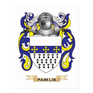 Pabelik Coat of Arms (Family Crest) Postcards