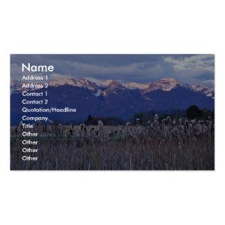 Pablo National Wildlife Refuge Business Card Templates
