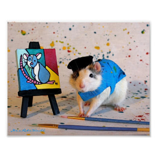 Pablo Racasso - The Rat Painter Poster