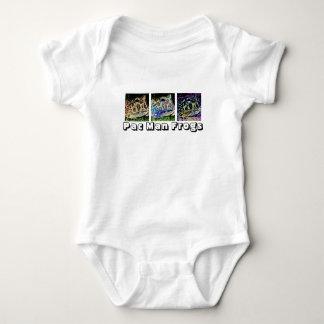 Pac Man Frog Baby Bodysuit