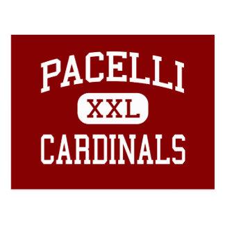 Pacelli - Cardinals - High - Stevens Point Postcard