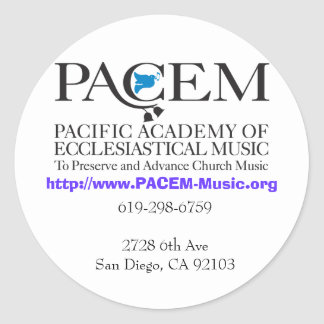 PACEM Stickers