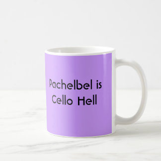 Pachelbel is Cello Hell - mug