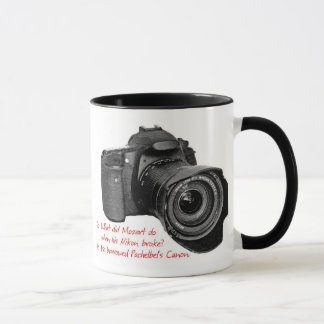 Pachelbel's Camera Mug