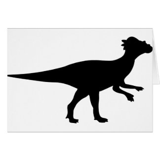 Pachycephalosaurus Dinosaur Card